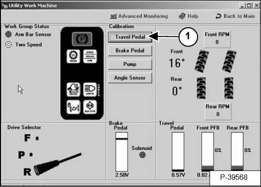 Bobcat-Toolcat-Travel-Pedal-Calibration-by-Service-Analyzer-3