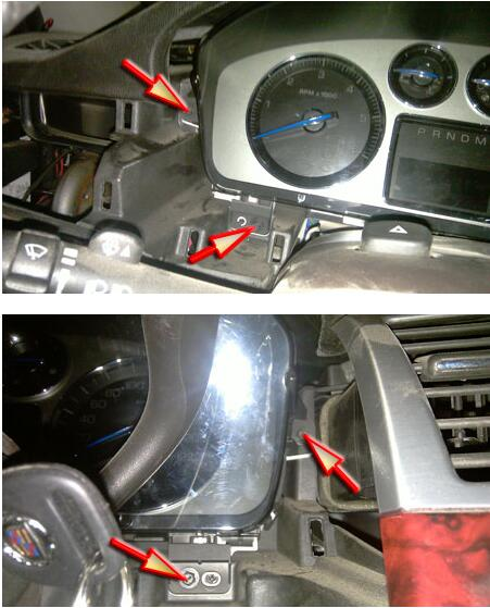Remove-Disassemble-Instrument-Cluster-for-Cadillac-Escalade-6