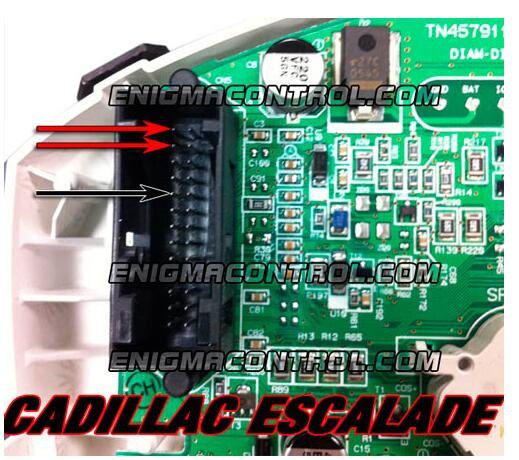 Remove-Disassemble-Instrument-Cluster-for-Cadillac-Escalade-9