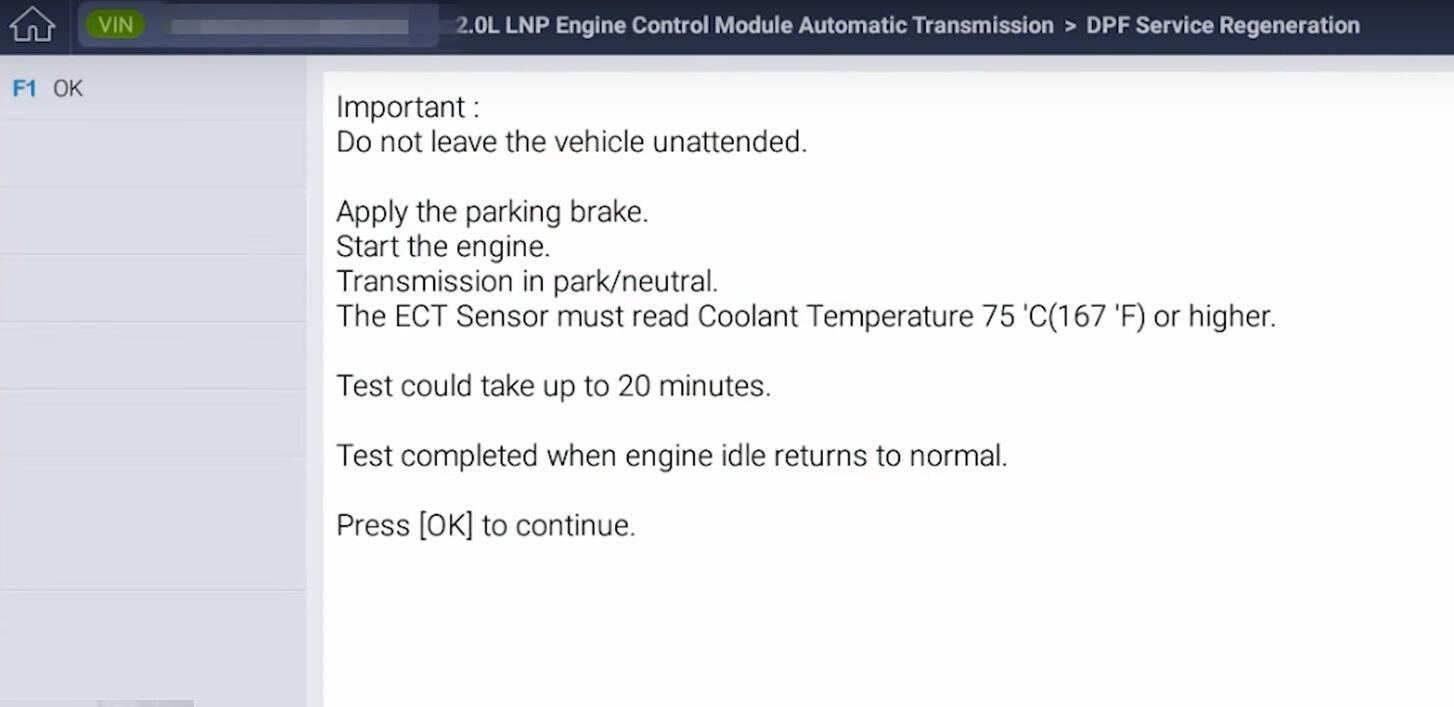 GM-Chevrolet-Orlando-DPF-Service-Regeneration-with-G-Scan3-12