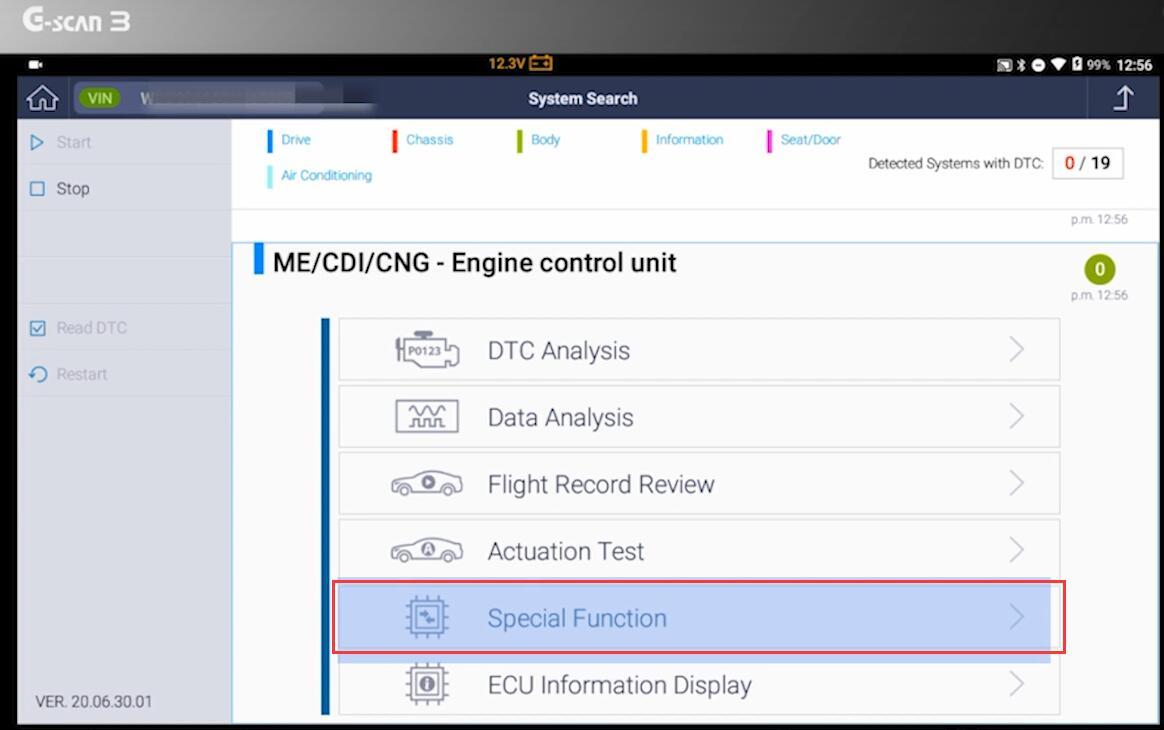 NOx-Sensor-Initialization-with-G-scan-for-Mercedes-Benz-Sprinter-7