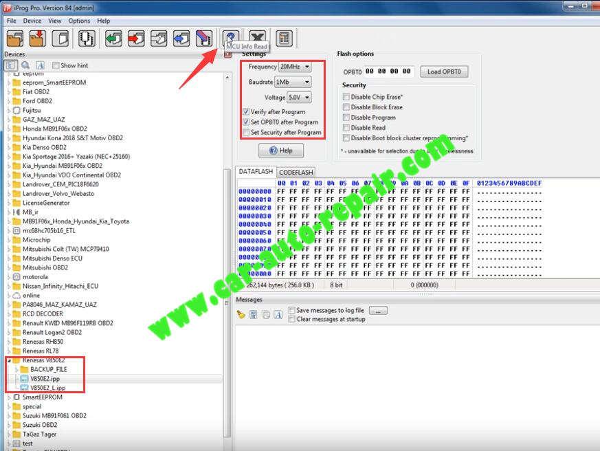 iProg-Pro-Read-Write-Renesas-VE850E2V850E2-L-1