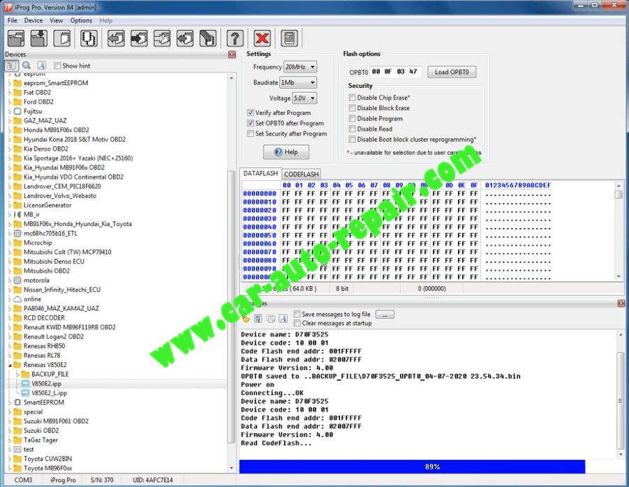 iProg-Pro-Read-Write-Renesas-VE850E2V850E2-L-3
