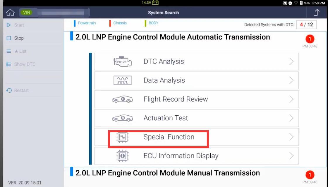 G-Scan-DPF-Regeneration-Function-on-2014-Chevrolet-Captiva-7