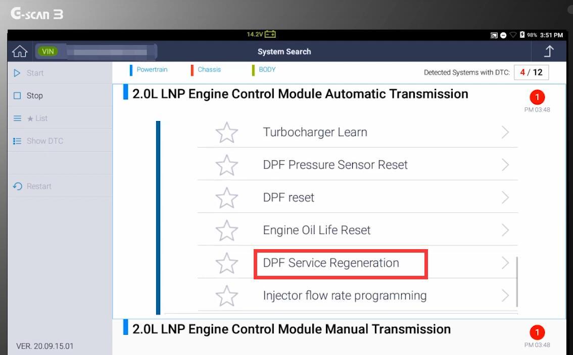 G-Scan-DPF-Regeneration-Function-on-2014-Chevrolet-Captiva-8
