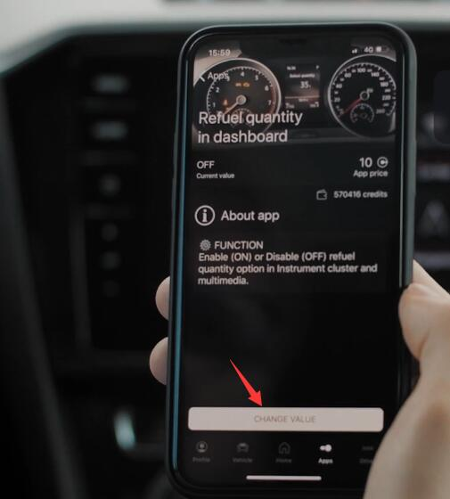 How-to-Activate-Refuel-Quantity-Display-for-VW-Arteon-by-OBDeleven-6