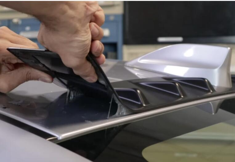 How-to-Remove-3M-Tape-Attached-Trim-Pieces-from-Subaru-2020-STI-3