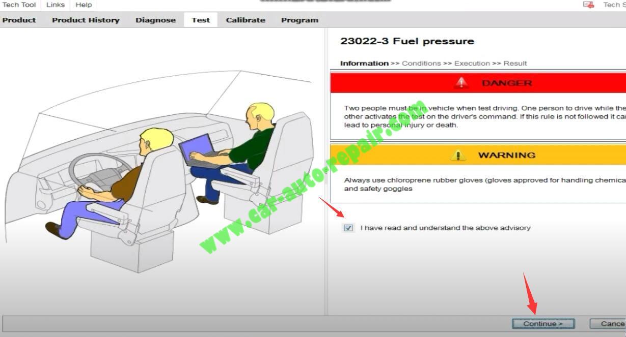 Volvo-PTT-Check-Engine-Fuel-Pressure-for-Volvo-FM4-Truck-2
