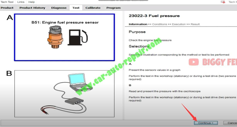 Volvo-PTT-Check-Engine-Fuel-Pressure-for-Volvo-FM4-Truck-3