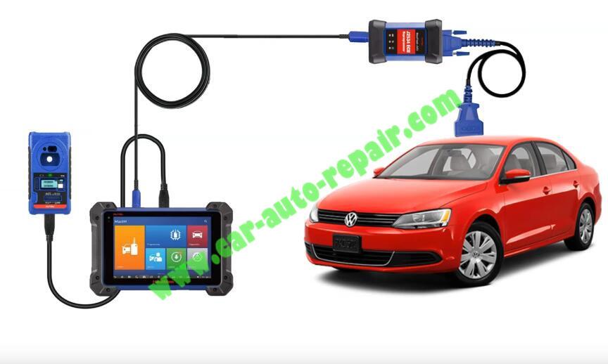 Autel-IM608-Add-New-Key-for-Volkswagen-Jetta-2013-1