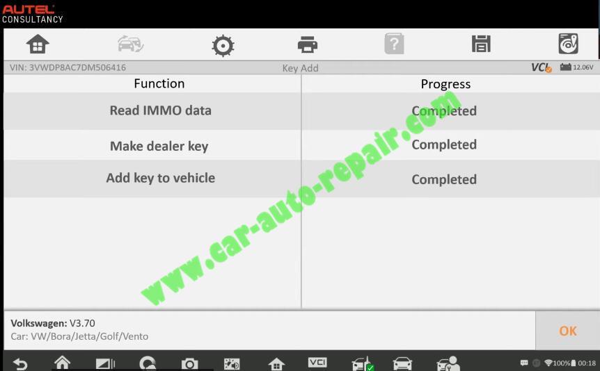 Autel-IM608-Add-New-Key-for-Volkswagen-Jetta-2013-15