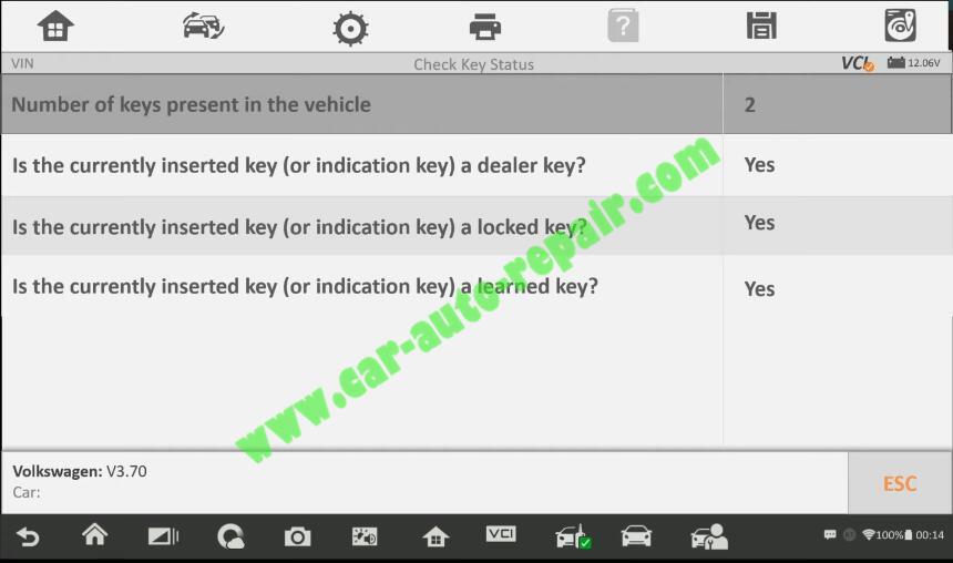 Autel-IM608-Add-New-Key-for-Volkswagen-Jetta-2013-5