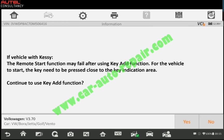 Autel-IM608-Add-New-Key-for-Volkswagen-Jetta-2013-7