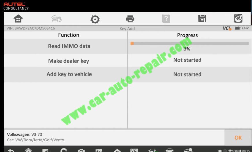 Autel-IM608-Add-New-Key-for-Volkswagen-Jetta-2013-8