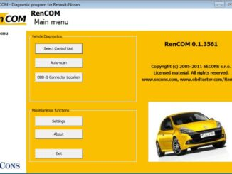RenCOM-For-RenaultDaciaNissan-Diagnostic-software-Free-Download