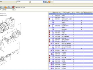 2016 HITACHI Parts Manager Pro 6.5.5 Free Download