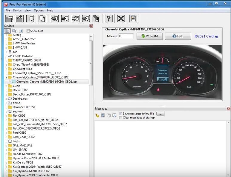 Chevrolet-Captiva-93C86-Mileage-Correction-by-iProg-Programmer-2