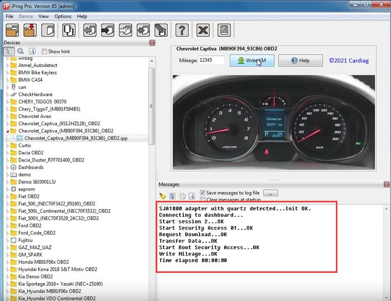 Chevrolet-Captiva-93C86-Mileage-Correction-by-iProg-Programmer-4