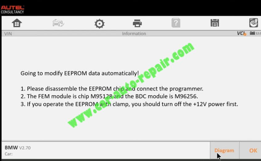 How-to-Use-Autel-IM608-to-Add-New-Key-for-BMW-320i-2013-12