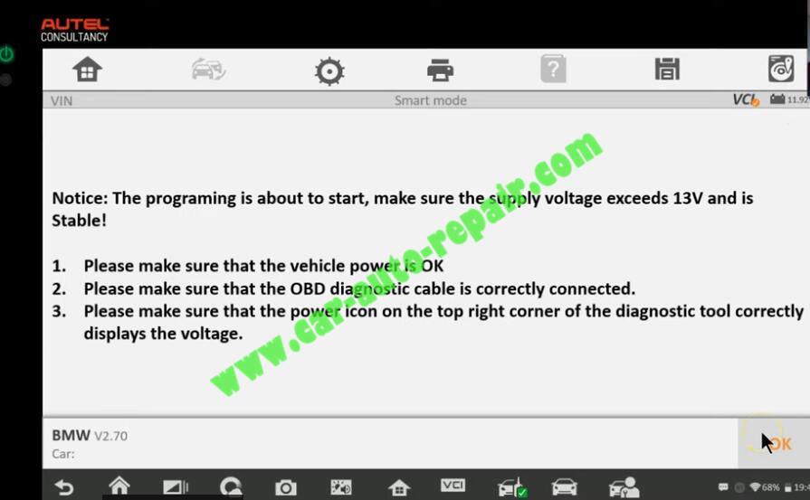 How-to-Use-Autel-IM608-to-Add-New-Key-for-BMW-320i-2013-15