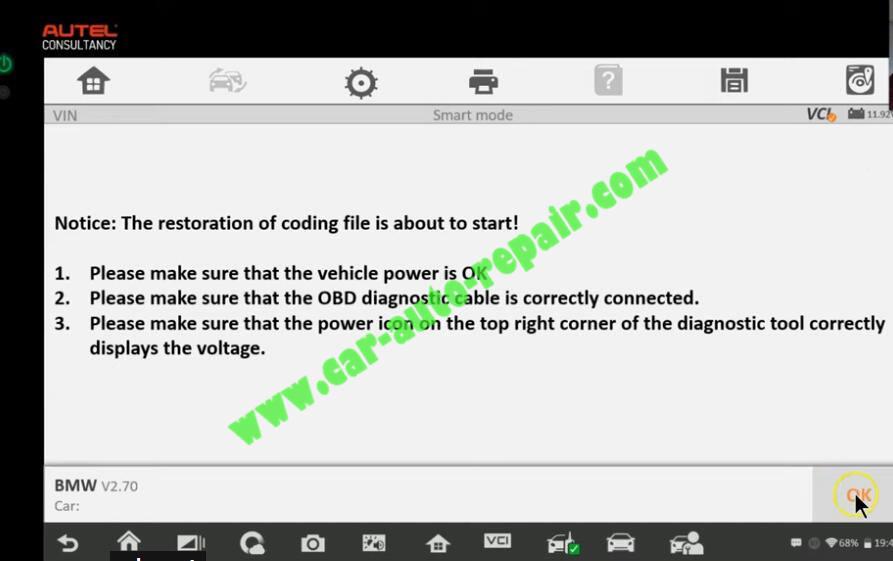 How-to-Use-Autel-IM608-to-Add-New-Key-for-BMW-320i-2013-20