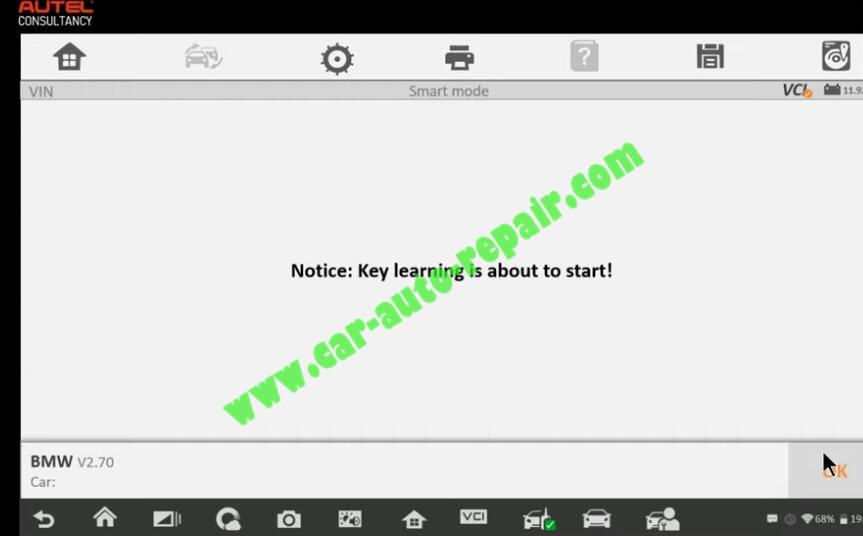 How-to-Use-Autel-IM608-to-Add-New-Key-for-BMW-320i-2013-22