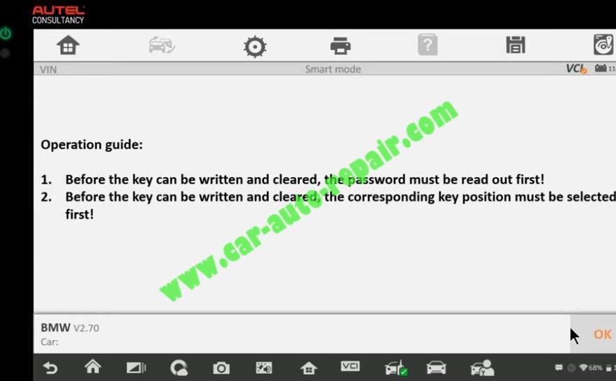 How-to-Use-Autel-IM608-to-Add-New-Key-for-BMW-320i-2013-23