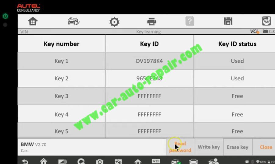 How-to-Use-Autel-IM608-to-Add-New-Key-for-BMW-320i-2013-24