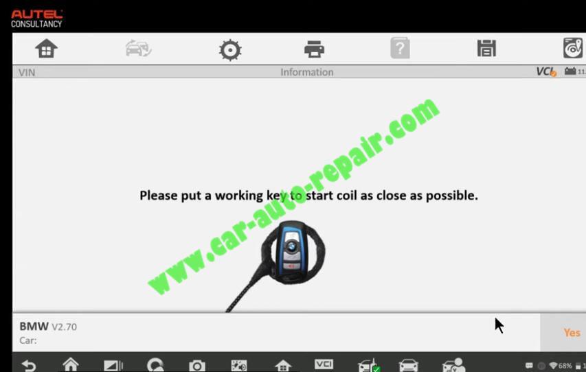 How-to-Use-Autel-IM608-to-Add-New-Key-for-BMW-320i-2013-26