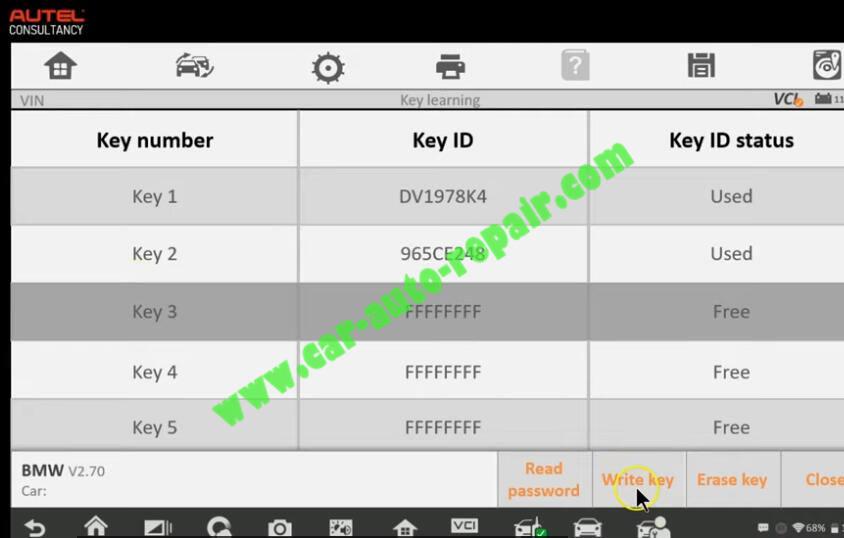 How-to-Use-Autel-IM608-to-Add-New-Key-for-BMW-320i-2013-28