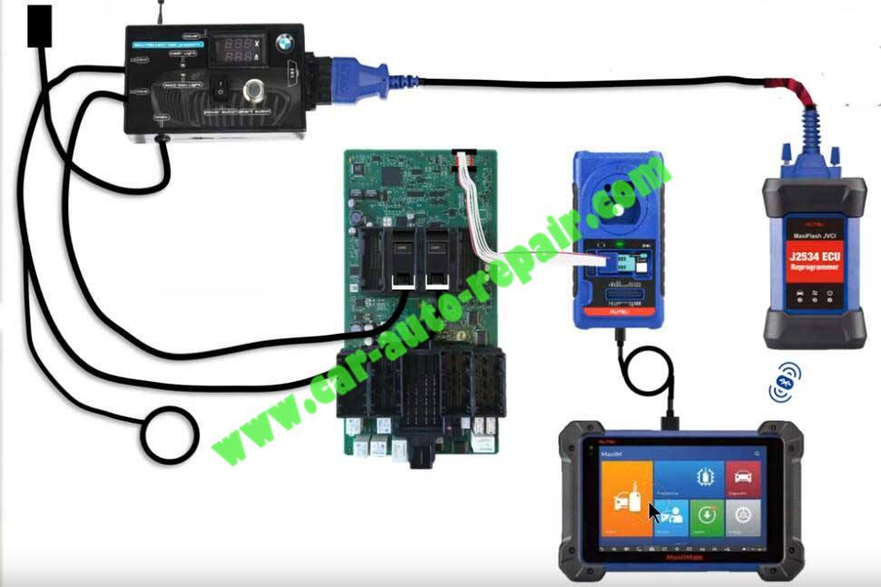 How-to-Use-Autel-IM608-to-Add-New-Key-for-BMW-320i-2013-8