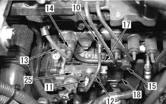 Komatsu-PC130-8-Excavator-Fuel-Supply-Pump-Removal-Installation-Guide-4