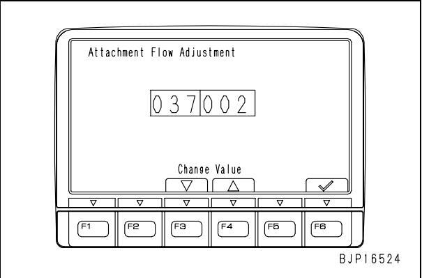 Komatsu-PC130-Excavator-Attachment-Flow-Adjustment-Guide-3