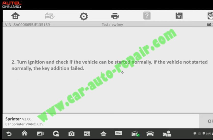 Mercedes-Benz-Sprinter-New-IR-Key-Adding-by-Autel-IM608-21