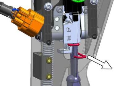 Still-RX20-Forklift-Truck-Brake-Cable-Changing-and-Adjusting-9