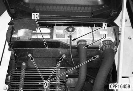 How-to-Remove-Install-Radiator-for-Komatsu-Excavator-PC130-4