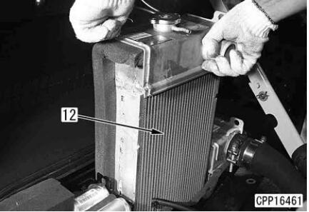 How-to-Remove-Install-Radiator-for-Komatsu-Excavator-PC130-6