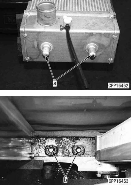 How-to-Remove-Install-Radiator-for-Komatsu-Excavator-PC130-7