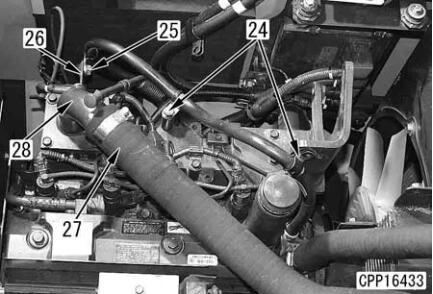Komatsu-Excavator-PC130-8-Cylinder-Head-Removal-Installation-Guide-10