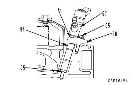 Komatsu-Excavator-PC130-8-Cylinder-Head-Removal-Installation-Guide-34