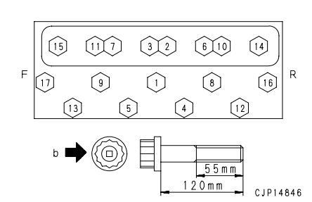 Komatsu-Excavator-PC130-8-Cylinder-Head-Removal-Installation-Guide-36
