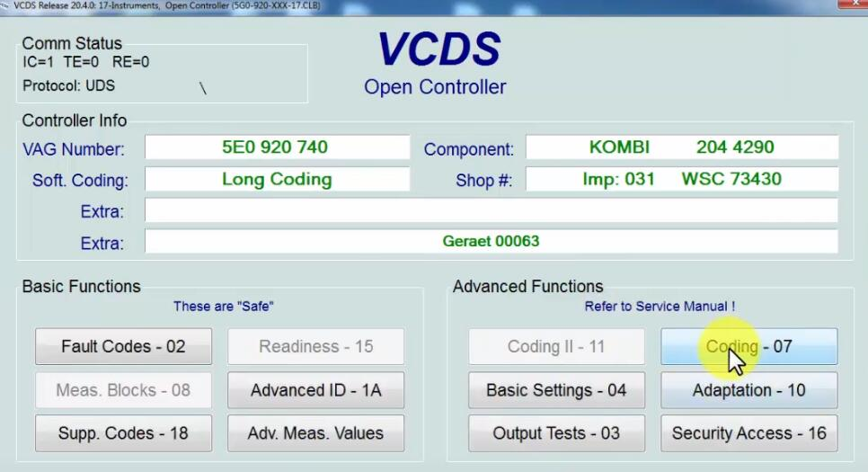 How-to-Activate-Staginggauge-Test-needle-by-VCDS-on-Skoda-A7-4