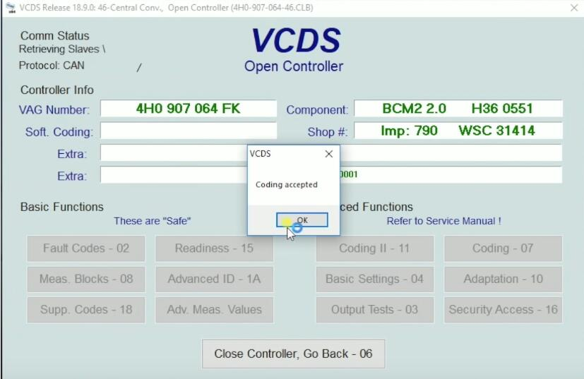 How-to-Active-Remote-Control-for-Windows-by-VCDS-on-2015-T3-Touareg-VW-7