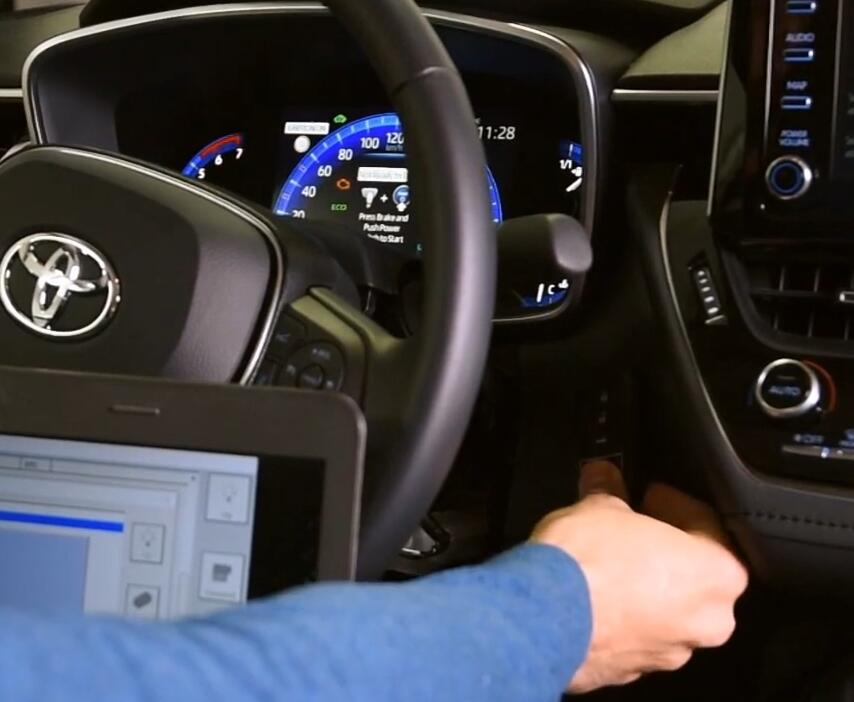 How-to-Reset-ID-Box-Replace-Smart-System-for-Toyota-Corolla-2020-Hybrid-20