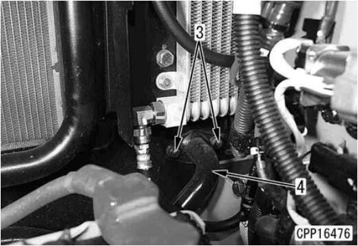 Komatsu-PC130-Work-Equipment-Oil-Cooler-Assembly-3
