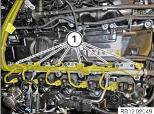 BMW-X7-Injectors-Ignition-Coils-Wiring-Harness-Replacement-15