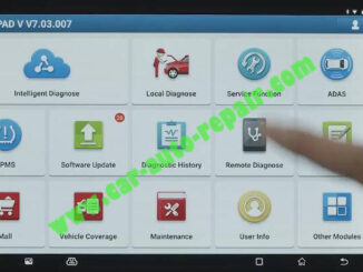 Benz-E260-A28600-DTC-Front-Camera-Calibration-by-Launch-X431-ADAS-1