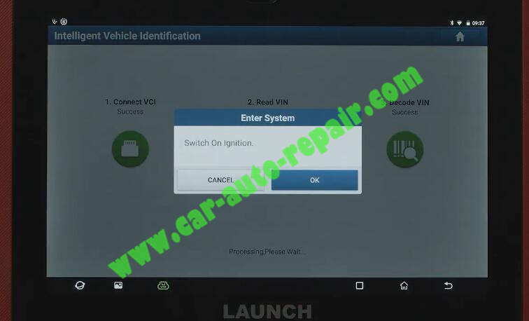 Benz-E260-A28600-DTC-Front-Camera-Calibration-by-Launch-X431-ADAS-2