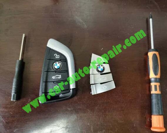How-to-UpgradeRetrofit-BMW-Black-Blade-Key-to-Silver-Key-1