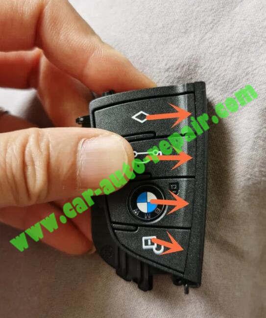 How-to-UpgradeRetrofit-BMW-Black-Blade-Key-to-Silver-Key-7